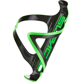 Supacaz Fly Cage Carbon Flaskeholder, neon green